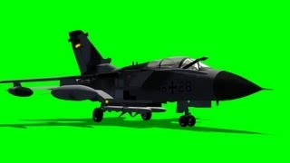 getlinkyoutube.com-german tornado jet - green screen