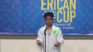 Erican Cup 2007 - Ahmad Fawwaz B Suhaimi (Erican Melaka)