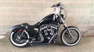 getlinkyoutube.com-2009 Harley Davidson Sportster Iron 883 Bobber