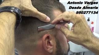 getlinkyoutube.com-Manual para Barberos: 5x3 Corte degradado fade