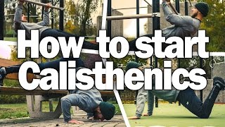 getlinkyoutube.com-How to Start Calisthenics - Beginner Bodyweight Workout Examples
