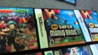 My Very Large Mario Video-Game Collection