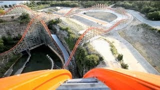 getlinkyoutube.com-Iron Rattler REAL POV Six Flags Fiesta Texas Roller Coaster Rider Cam Off-Ride