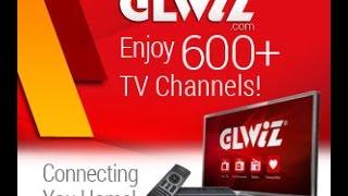 طريقة تشغيل مئات القنوات الفضائية على تلفزيون إل جي واي تلفزيون سمارت ودون تقطيع ببرنامج GLWIZ