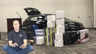 getlinkyoutube.com-2017 Cruze Hatchback trunk space overview.