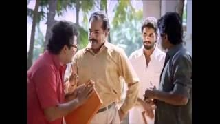 "getlinkyoutube.com-MIDHUNAM Malayalam movie INNOCENT ""അടി"" in slow motion - Comedy scene"