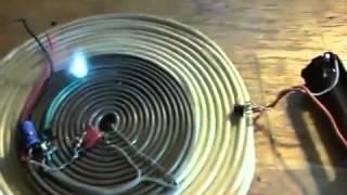Бифилярная катушка и постоянный ток