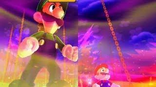 getlinkyoutube.com-Mario and Luigi: Dream Team -  Giant Bowser Battle