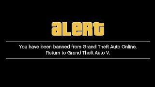 What Happens When You Get Banned in GTA 5 ONLINE for Modding?