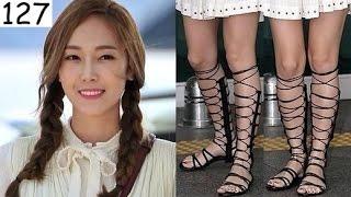 getlinkyoutube.com-Once SNSD . Jessica Jung . 160918 . 160919 . Airport Fashion . Seoul . Heading to Bangkok Thailand