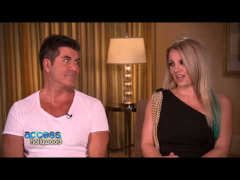 Britney Spears and Simon Cowell (Access Hollywood - X Factor Interview)
