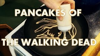 getlinkyoutube.com-The Walking Dead Pancake Art (Michonne, Glenn, Rick)
