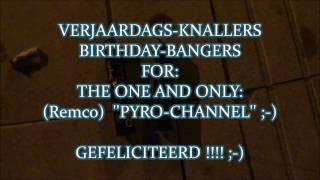 2x Cobra6 + PS5 Shark modded..Verjaardags/Birthdag Bangers voor: Pyro-Channel (Remco) ..vuurwerk