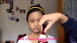 getlinkyoutube.com-Sulli Etude House Sweet Recipe Inspired Make up Tutorial