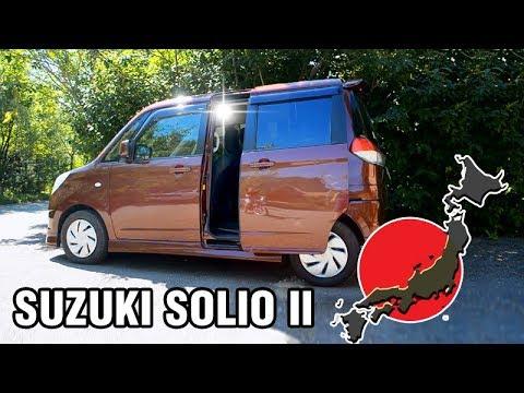 Вот такие машины сейчас пригоняют с Японии - Suzuki SOLIO II, НЕ КЕЙ КАР