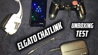getlinkyoutube.com-ELGATO CHAT LINK CABLE UNBOXING & SETUP on PS4! (Record Party Chat and Your Voice Together) (HD60)