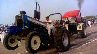getlinkyoutube.com-ford 7000 Tractor Tochan ...(BAGGI MAAN) RED22