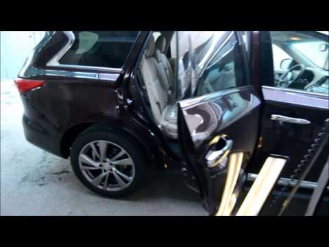 INFINITY QX60 разборка дверной карты и ремонт PDR