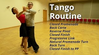 getlinkyoutube.com-Tango Routine | Closed Promenade, Back Corte, Reverse Pivot