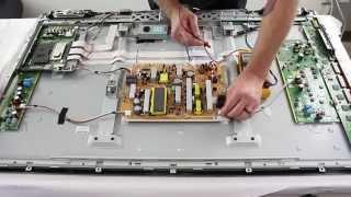 getlinkyoutube.com-Panasonic Plasma TV Repair - Understanding 14 Blink Code - How to Fix 2011 Panasonic Plasma TV