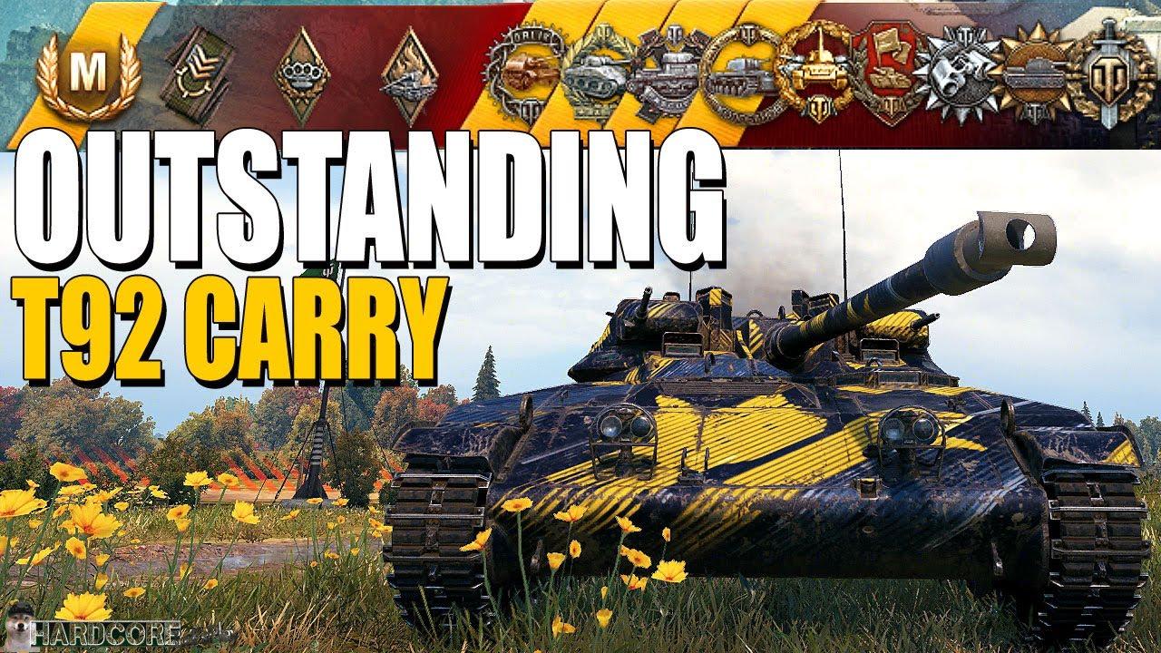 T92: 4.6k damage, 8 tanks destroyed - World of Tanks