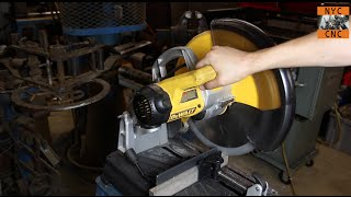 getlinkyoutube.com-The Best Metal Cutting Saw!? Aluminum AND Steel? DeWalt DW872 MultiCutter Review