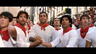 getlinkyoutube.com-Hrithik, Farhan And Abhay Chased By Bulls - Zindagi Na Milegi Dobara (2011) BRRip 720p x264 AAC
