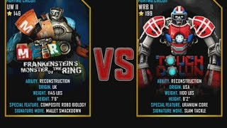 Real Steel WRB Metro VS Touchdown NEW graphics blows