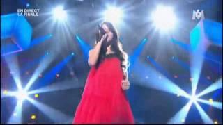 getlinkyoutube.com-Marina Dalmas final do talent 2011  da França  Set the fire to the rain  - Adele