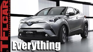 getlinkyoutube.com-2017 Toyota C-HR : Everything You Ever Wanted to Know