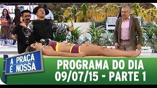 getlinkyoutube.com-A Praça É Nossa (09/07/15) - Íntegra do Programa - Parte 1