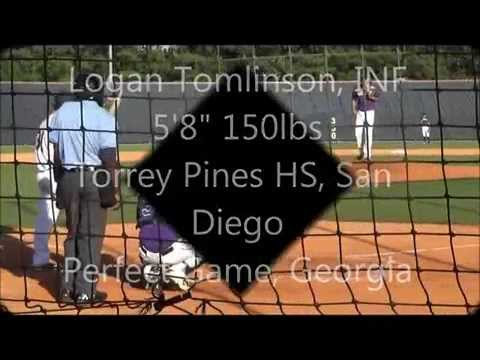 Logan Tomlinson, Class of 2015 Perfect Game, GA