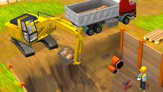 getlinkyoutube.com-เกมส์ รถแม็คโคร ตักดิน รถตักดิน รถดั้ม รถแมคโคร TheKidsToy