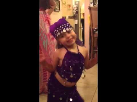Jackie belly dancing!!