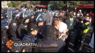 Protestan vecinos de Santa Fe por tren interurbano a Toluca