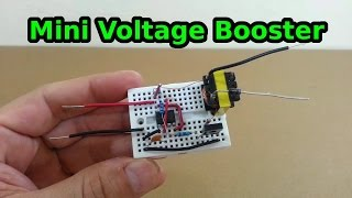 getlinkyoutube.com-Mini Voltage Booster -- 6 to 600 volts