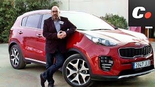 getlinkyoutube.com-Kia Sportage 2017 SUV | Primera Prueba / Review en español | Contacto | coches.net