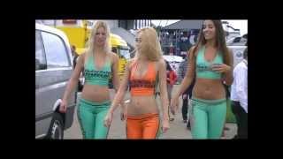 getlinkyoutube.com-GridGirls during Superleague Formula Zolder