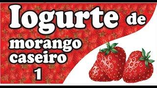 getlinkyoutube.com-Como Fazer Iogurte de Morango Natural Caseiro Fácil #1 - Dica de Economia - Mi Presentes