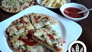 getlinkyoutube.com-عجين أساسي بدون غلوتين بالأرز المسلوق أو البطاطس المسلوقة ل 6 وصفات - الوصفة الأولى : البيتزا