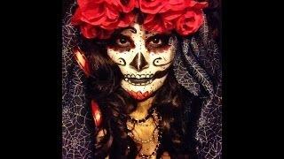 getlinkyoutube.com-La Catrina: Easy Sugar Skull Tutorial