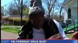 getlinkyoutube.com-Hilarious Ferriday drug bust interview (angry because thats how they make a living)