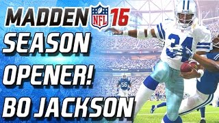 getlinkyoutube.com-BO JACKSON FUMBLED!!!!!!!!!!! SEASON OPENER! - Madden 16 Ultimate Team