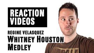 Whitney Houston Medley - Regine Velasquez   REACTION