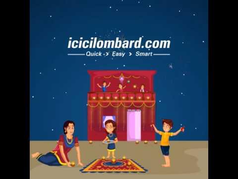 Celebrate a safe Diwali at Home - ICICI Lombard