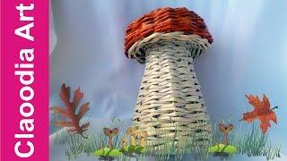 getlinkyoutube.com-GRZYB, papierowa wiklina (mushroom, wicker paper)