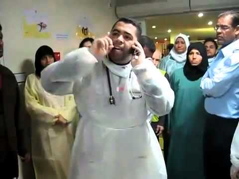 Bahrain Salmanya Hospital In 15 March 2011.flv