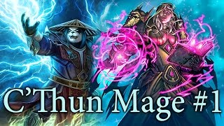 getlinkyoutube.com-Hearthstone C'thun Mage S25 #1: Its Growing!