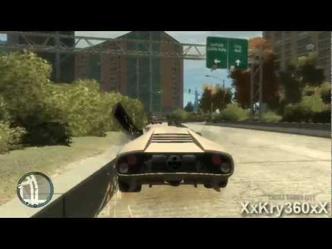 GTA 4 Caidas, Accidentes y Bugs 3