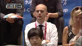 Eddy Merckx vs Torbjorn Blomdahl Semi Final 3 Cushion Billiards World Cup 2014